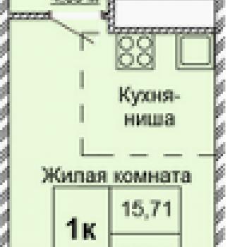 ЖК Заречный квартал (Ижевск) – планировка №1