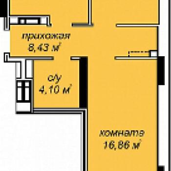 ЖК Добродом (Ижевск) – планировка №4