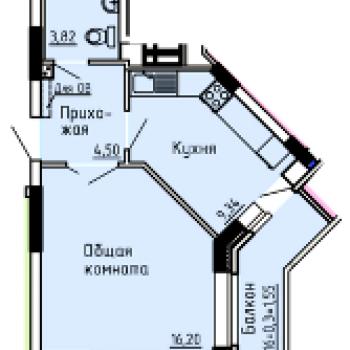 ЖК Добродом (Ижевск) – планировка №5