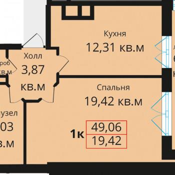 ЖК Премьера (Калининград) – планировка №2