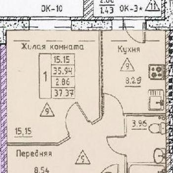 Микрорайон Слобода (Калуга) – планировка №3