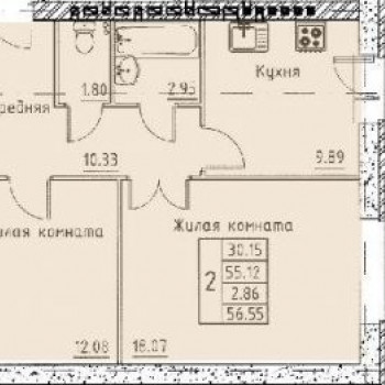 Микрорайон Слобода (Калуга) – планировка №1