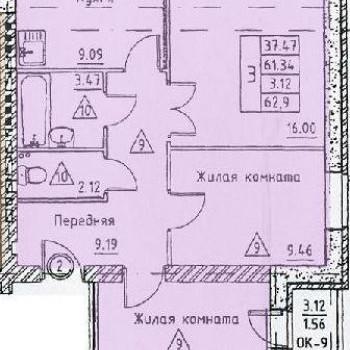 Микрорайон Слобода (Калуга) – планировка №2