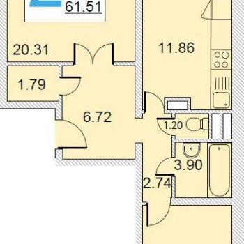 Микрорайон Хрустальный (Калуга) – планировка №1