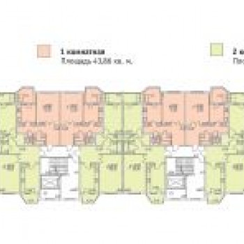 Жилой квартал Веснушки (Калуга) – планировка №1