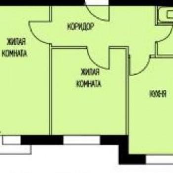 ЖК Кошелев - проект (Калуга) (Калуга) – планировка №2