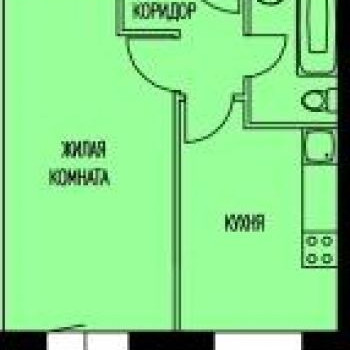 ЖК Кошелев - проект (Калуга) (Калуга) – планировка №1