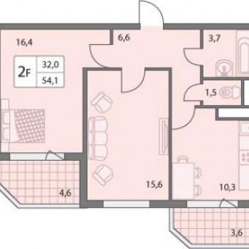 Микрорайон Правград (Калуга) – планировка №3