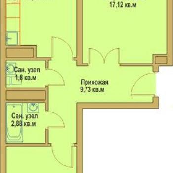 ЖК Европейский квартал (Калуга) – планировка №1