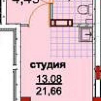 ЖК Семейный (Кемерово) – планировка №2