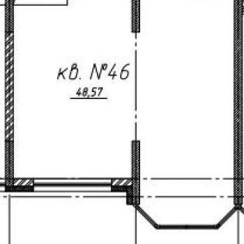 ЖК Притомский (Кемерово) – планировка №3