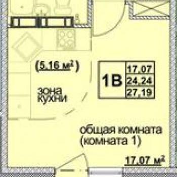 ЖК Томь (Кемерово) – планировка №5