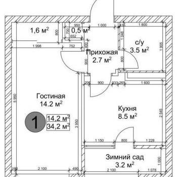ЖК Квартал Дружбы (Кемерово) – планировка №4