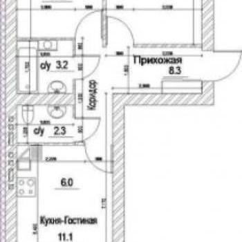 ЖК Квартал Дружбы (Кемерово) – планировка №5