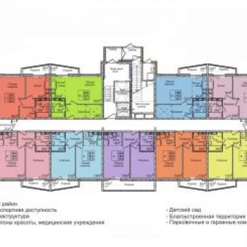 ЖК Кемерово-Сити (Кемерово) – планировка №2