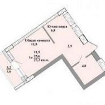 ЖК Старт (Кемерово) – планировка №3