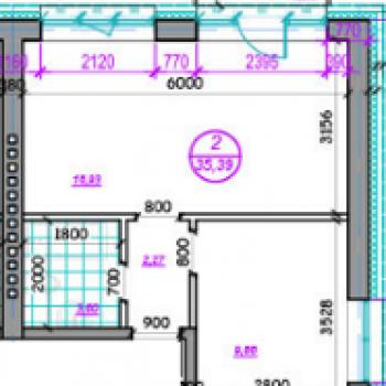 Клубный дом Терраса (Хабаровск) – планировка №2