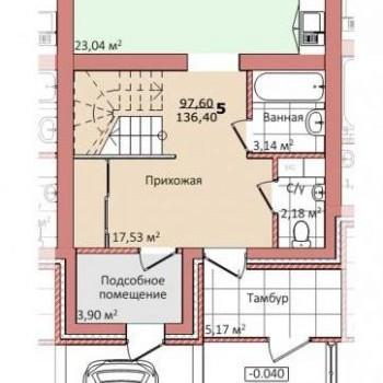 ЖК Экопарк Васильки (Киров) – планировка №6