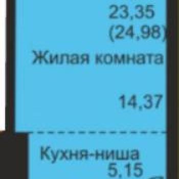ЖК Флагман (Киров) – планировка №4