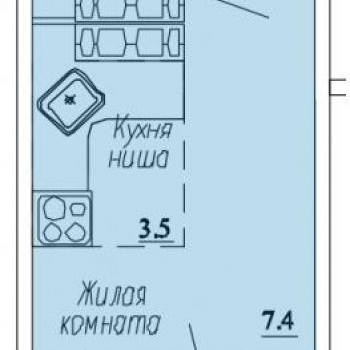 ЖК Озерки (Киров) – планировка №3