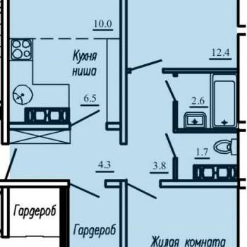 ЖК Озерки (Киров) – планировка №2