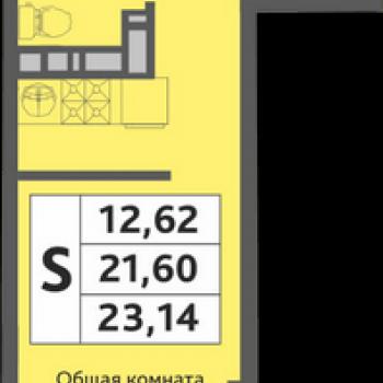 ЖК Мозаика (Краснодар) – планировка №1