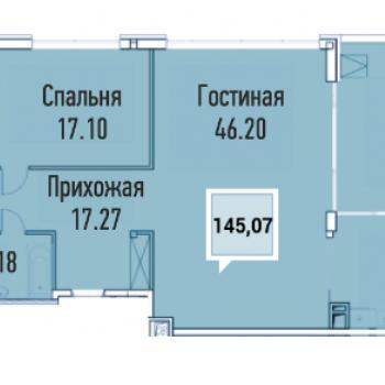 ЖК Империал (Краснодар) – планировка №3