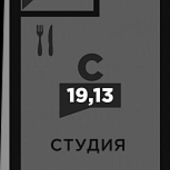 ЖК по ул. Красных Партизан 2 (Краснодар) – планировка №1