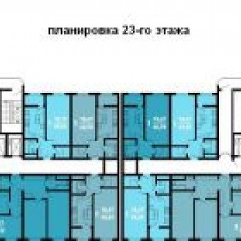 ЖК Краснодар (Краснодар) – планировка №2