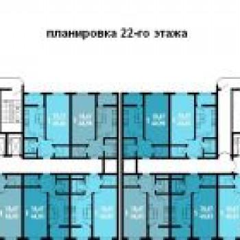 ЖК Краснодар (Краснодар) – планировка №3