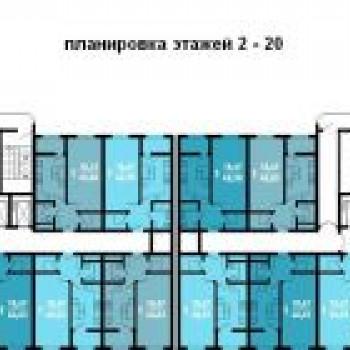 ЖК Краснодар (Краснодар) – планировка №5
