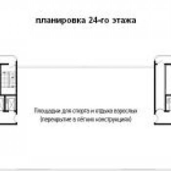 ЖК Краснодар (Краснодар) – планировка №1