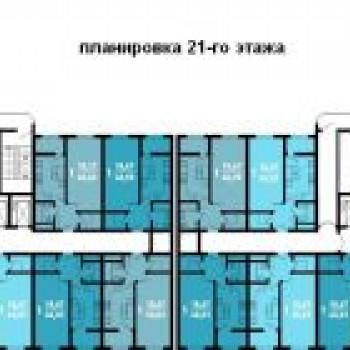 ЖК Краснодар (Краснодар) – планировка №4