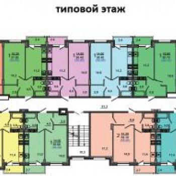 ЖК Марсель (Краснодар) – планировка №1