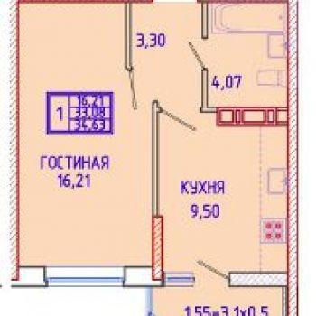 Микрорайон Панорама (Краснодар) – планировка №1