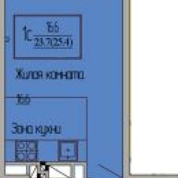 ЖК Ясный (Краснодар) – планировка №1