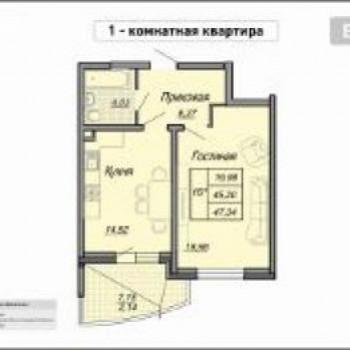 ЖК на Репина (Краснодар) – планировка №1