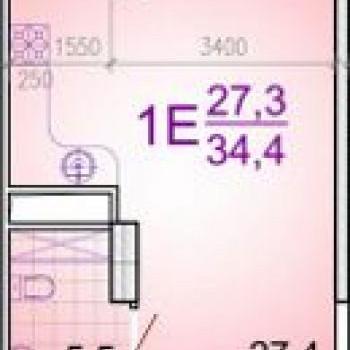 ЖК Этажи (Краснодар) – планировка №3