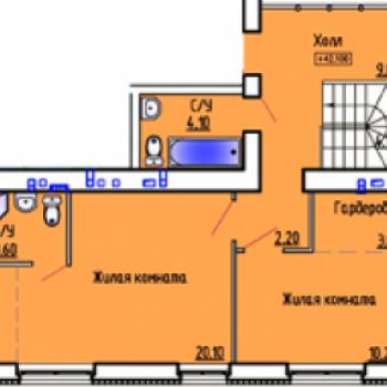 ЖК Триумф (Курган) – планировка №2