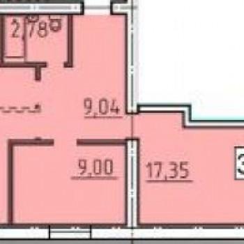 ЖК Родной дом (Курган) – планировка №4