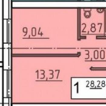 ЖК Родной дом (Курган) – планировка №2