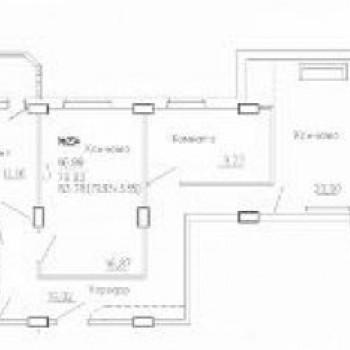 ЖК на Агрегатной (Курск) – планировка №2