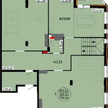 ЖК Континент (Липецк) – планировка №2