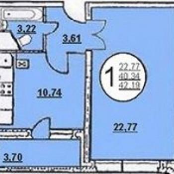 Жилой дом №5 (Липецк) – планировка №1