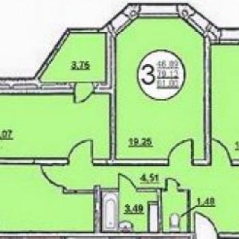Жилой дом №5 (Липецк) – планировка №2