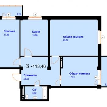 ЖК Северный (Махачкала) – планировка №5