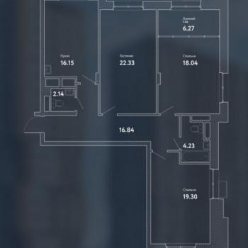 ЖК Пикассо (Москва) – планировка №11