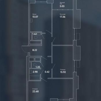 ЖК Пикассо (Москва) – планировка №10