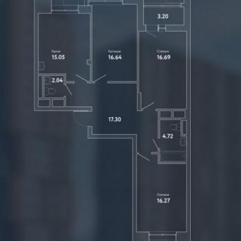 ЖК Пикассо (Москва) – планировка №9