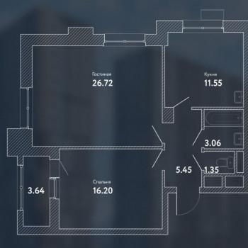 ЖК Пикассо (Москва) – планировка №7